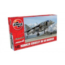 Hawker Siddeley Harrier Av-8A 1/72 Kit Airfix A04057