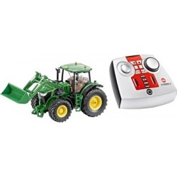 Siku Remote Control John Deere 7W With Front Loader + Remote Control, Charger