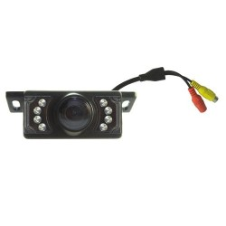 Camera/ Universal Rca + Dc Reversing Camera With Led Night Vision