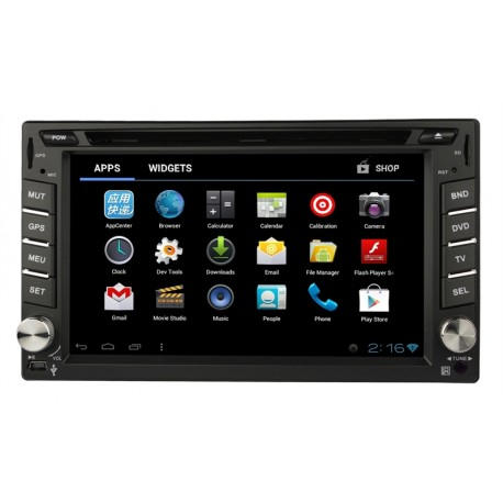 Android Dvd Player Universal And For Most Nissan Cars And Jeeps Double Din