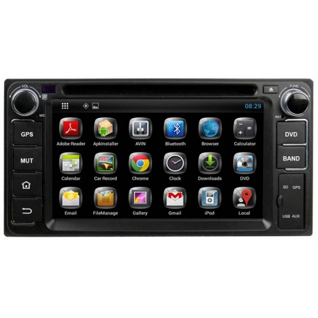 Android Dvd Player Universal For Cars And Jeeps Double Din