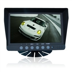 Screen / Truck /Machine/ Bus 7 Inch Reversing Monitor With 2 Camera Av Inputs