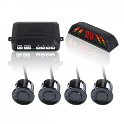 Wired Parking Sensors For A Car