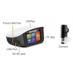 Holiday Dash X1 Journey Camera Screen And Camera