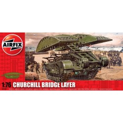 Churchill Bridge Layer 1/76 Dis Kit Airfix A04301