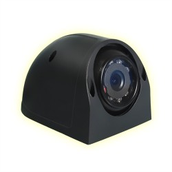 Camera/ Aerodynamic / Rc +12V With Night Vision Black