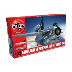 English Electric Lightning F6 1/72 Dis Kit Airfix A05042