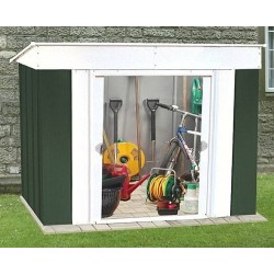 Oldfields 6X4 Low Pent Metal Shed