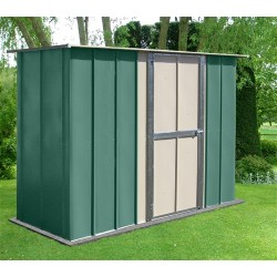 Oldfields 8X3 Metal Utility Shed, Hinged Door.