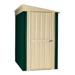 Globel 4X6 Heritage Green Lean To Metal Shed