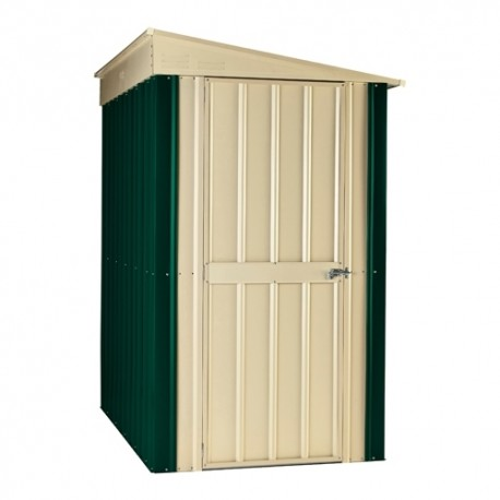 Globel 5X8 Herigage Green Lean To Metal Shed