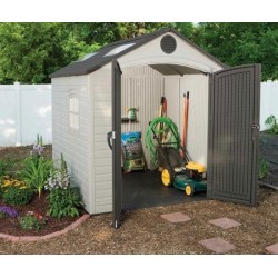 Lifetime Products 8x7.5 feet Garden Shed with Floor
