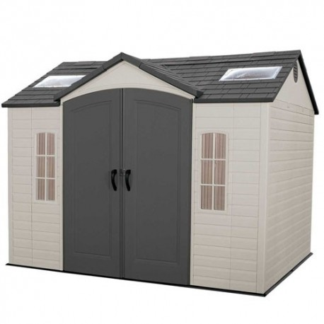 Lifetime Products 10x8 Hdpe Garden Shed With Floor