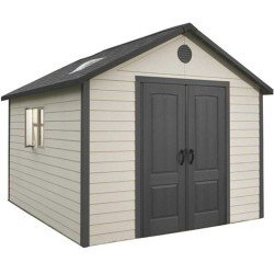 Lifetime Products 11X11 Heavy Duty Shed With Double Doors