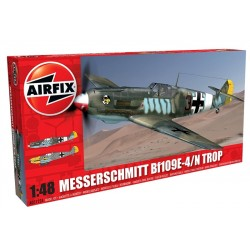 Bf109E Tropic 1/48 Airfix Kit  DIS