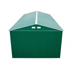 Green 6Ft Wall And Roof Extension For Your Olympian Metal Car Garage.