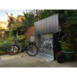 Trimetals Bikestore With Entry Ramp / Anthracite Grey