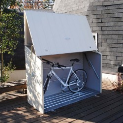 Trimetals Sesame Bikestore Unit With Full Opening (Gas Mech) Includes Metal Floor