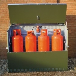 Senturion 447 Gas Cylinder Storage For Four 47Kg Tall Cylinders