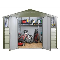 Trimetals 10X8 Metal Shed T108