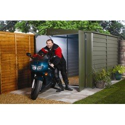 Trimetals Security Bike Pent Shed 5X9 T950 With 2 Doors And No Windows
