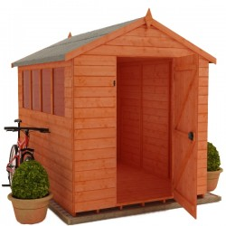 4X6 Apex Timber T&G Shed