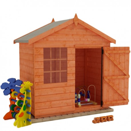 Hideout Playhouse 5X3 12Mm Timber. Single Storey