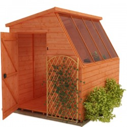 Garden Potting Shed 8X10 Wood.