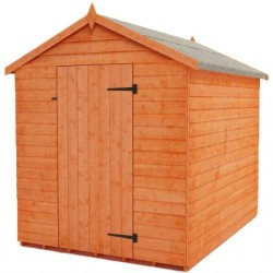 Rustic 6X8 Apex Shed Without Windows