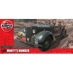 Monty'S Humber Snipe Staff Car 1/32 Dis Kit Airfix A05360