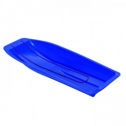 Large Blue Plastic Snow Sleigh - Made By Mailbox