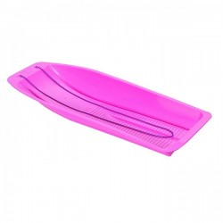 Large Pink Plastic Sleigh - Made By Mailbox