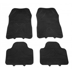 Rubber Mat Set Fs9 - Black