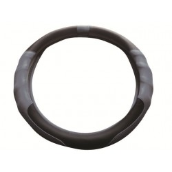 Preci Steering Wheel Cover Black/Grey