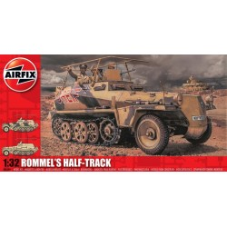 Airfix A06360 Rommels Half Track 1/32 Kit  DIS