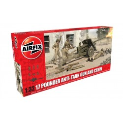 17 Pdr Anti Tank Gun 1/32 Kit Airfix A06361