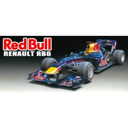 Red Bull Racing Renault Rb6 1/20 Kit