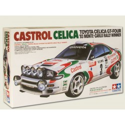 Castrol Rally Celica Assembly Kit Scale - 1/24Th Model Kit