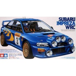 Subaru Rally Impreza Wrc Assembly Kit Scale - 1/24Th
