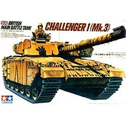 British Challenger 1 Mk.3 Assembly Kit Scale - 1/35Th
