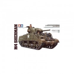 U.S. M4 Sherman(Ear.Production) Assembly Kit Scale - 1/35Th