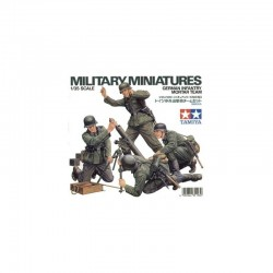 German Infantry Mortar Team Assembly Kit Scale - 1/35Th