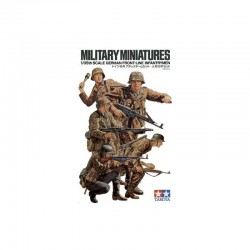 German Front-Line Infantryman Assembly Kit Scale - 1/35Th