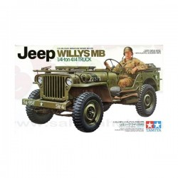 Jeep Willys Mb 1/4-Ton Truck Tamiya 1/35 Kit