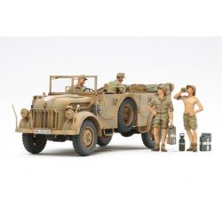 German Steyr Type 1500A/01 - And Africa Corps Infantry @ Rest 1/35 Kit