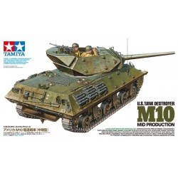 Us Tank Destroyer M10 Mid Prod 1/35 Kit