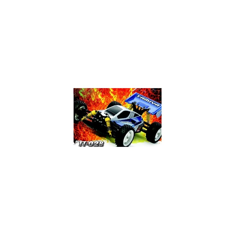 Tamiya Neo Scorcher 4Wd Buggy Tt-02B Self Build Kit 1/10 Scale Includes ESC  Speed Controller