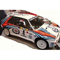 Remote Lancia Delta (Tt-02) Tamiya RC 1/10 Kit 4WD Includes ESC Speed Controller