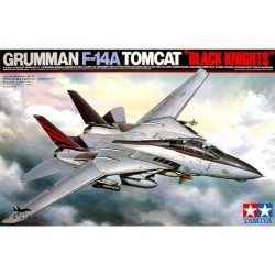 Tamiya F-14A Tomcat - Black Knights Assembly Kit Scale - 1/35Th