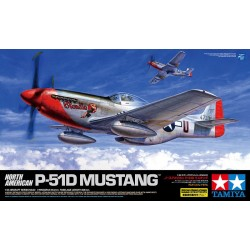 Tamiya 1/32 P-51D Mustang Assembly Kit Scale - 1/35Th